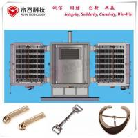 Silver / Chromium Thermal Evaporation Equipment For Leather Bag Parts Accessories for sale