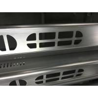 Brush Anodized aluminum extruded shapes / Aluminum Extrusion Profiles for Electronics for sale
