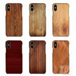 China Customized Wood Printed Cell Phone Covers For IPhone X , 3D Sublimation Blank Phone Case for sale