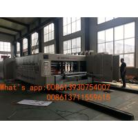 China Fully Automatic Carton  Box Making Machine Flexo Printer Slotter Die Cutter  Folder Gluer Bundler for sale