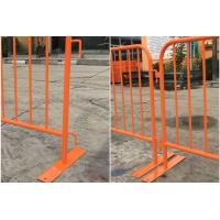 China Steel Construction Crowd Control Fencing Panel , Crowd Safety Barriers for sale