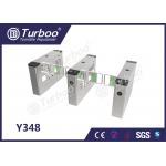 Swing Barrier Gate / Access Control Turnstile Gate High Brightness Indicator for sale