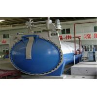 China Rubber Autoclave With Safety Interlock , Automatic Control,and is of high temperature and low pressure for sale