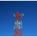 4 Legs 30m/S Q235 Angle Steel Tower For Telecommunication