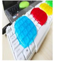 17.5*12cm Colorful Super Clean Slimy Gel Magic Keyboard Cleaning Compound for sale
