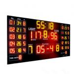 China Customized Luxury Multi LED Basketball Scoreboard For Basketball Sporting for sale