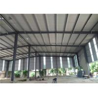 Export to Philippines customize design prefabricated structural steel frame warehouse for sale