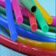 Colored Soft Flexible Silicone Tubing 0.5-100mm OD Range FDA LFGB Approved for sale