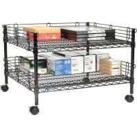 Standard Size Mobile Rack Unit / Lightweight Office Table Shelving for sale