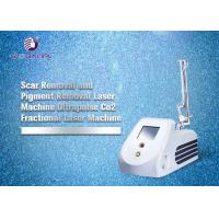 RF Tube CO2 Fractional Laser Machine For Wrinkle Removal And Skin Tightening for sale