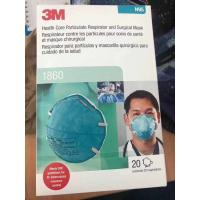 China Outdoor Surgical Disposable Mask 3M 1860 9001 N95 Face Mask Breathable for sale