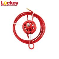 Wheel Type Cable Lockout Device Loto Lock Body Accepts Up To 8 Padlocks for sale