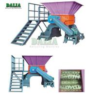 11 - 37KW Power Scrap Metal Shredder Over Load Protection With Strong Crushing Capacity for sale