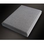 Chamfer Angle Insulation Acoustic Fabric Panels / Wall Covering Board for sale