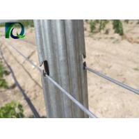 Strong Agricultural Vineyard Post 1.8MM X 2.5M C - Shaped And Metal Materials for sale