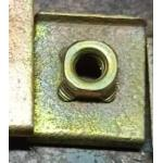 Stainless Steel Square Weld Nut DIN928 Bolt M6x30 Size For Machinery Industry for sale