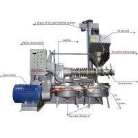 Steel Screw Oil Press Machine , Fully Automatic Oil Processing Equipment for sale
