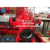China UL / FM Listed Diesel Engine Driven Fire Pump Set With Single Stage Split Case Fire Water Pump 1500gpm @ 125-135PSI for sale