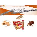 540mm 300kg/H Dry Fruit Bar Processing Line With Chocolate Coating