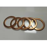 China Custom Precise Metal Stamping Washer Parts Brass Sheet Material High Speed stamping for sale