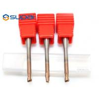 Tungsten Carbide HRC55 Long Neck Flat / Ball Nose End Mill CNC Cutting tools router bit for sale