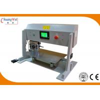 Four Optional Speed PCB Depaneling Machine With Lcd Display And Safe Sensor for sale
