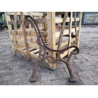 Custom Outside Wrought Cast Iron Bench Ends / Cast Iron Garden Furniture for sale