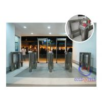 Luxury Shape Speed Gate Security Half Height Turnstiles For Fitness for sale