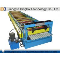China Corrugated Roll Forming Machine Forging Steel 18 Groups Rollers For Transportation supplier