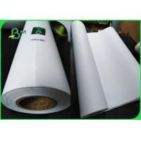 FSC A1 Engineering Bond Plotter Paper White 80gsm For Garment Factory Mapping for sale