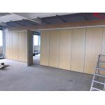 Melamine Surface Movable Wall Systems Soundproof Room Divider Multi Color for sale