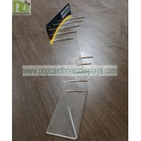 China Practical Acrylic Retail Display Stands Smoke Oil Display Suit For Different Gift Bags for sale