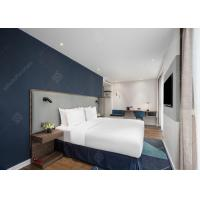 Commercial Express Holiday Inn Hotel Furniture , Contemporary Modern Hotel Bedroom Furniture Set for sale