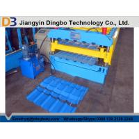 Full Automatic Metal Roof Panel Roll Forming Machine With 1 Year Warranty for sale