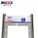 2017 High Sensitivity Professional 18 Detection Zones Walkthrough Metal Detector MCD500C weatherproof FULL body scanner for sale