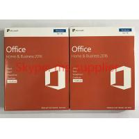 China Genuine Microsoft Office Home And Business 2016 For Mac 32 / 64 Bit COA Sticker Label for sale