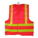 Reflective safety vest , orange reflective vest for outdoors activities