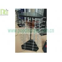 Adjustable Wire Rack Wire Grid Display Racks , Metal Retail Display Stands for sale