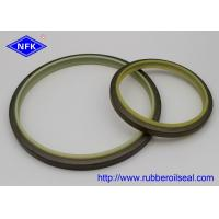 High Temp Dust Wiper Seal , IRON Metal Wiper Seal PU Material FD4046-E1 DKBI for sale
