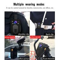 China IP65 Body Worn Camera With Video Output HDMI And AV Jack / Hidden LED White Light Police Camera supplier