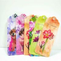 Unique Lenticular 3D Animal Bookmarks With Tassel For Gifts And Souvenirs for sale