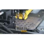 Hydraulic CNC Plate Drilling Machine Punching And Marking 3 Die - Stations for sale