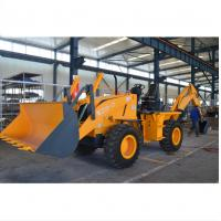 China 74~147KW High Configuration Compact Backhoe Loader With Dongfeng Cummins Engine supplier