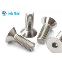 Flat Head Socket Screws 8.8 Grade CSK Bolts Stainless Steel Fasteners  DIN 7991 for sale