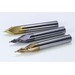 End mill of tungsten steel coated with hot melt pressing wheel for sale