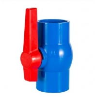 Plastic PVC Threaded/Socket Octagonal/Compact Ball Valve