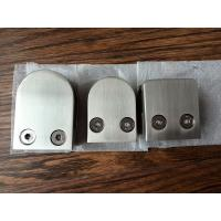 SS304 / SS316 Stainless Steel Glass Clamps Easy Installation 52 * 52 * 32mm for sale