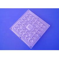 China 3535 SMD LED Lens Array 28 In 1 Square Module 100X60 Degree Beam Angle For 30w-50w for sale