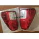 Red & Smoke LED Tail Lights 4x4 Driving Lights For Toyota Hilux Revo SR5 2015 - 2017 for sale