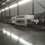 Corrugated Box Die Cutting Machine Folder Gluer / Corrugated Flexo Printing Machine for sale